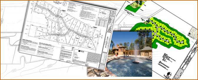Examples of Civil Engineering, Landscape Architecture and Site Planning documents